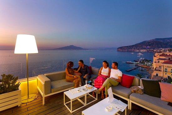 Sofas In The Bar Terrazza Vittoria Area Picture Of Hotel