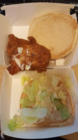 Poorly Cooked Chicken Kfc Dorking Traveller Reviews