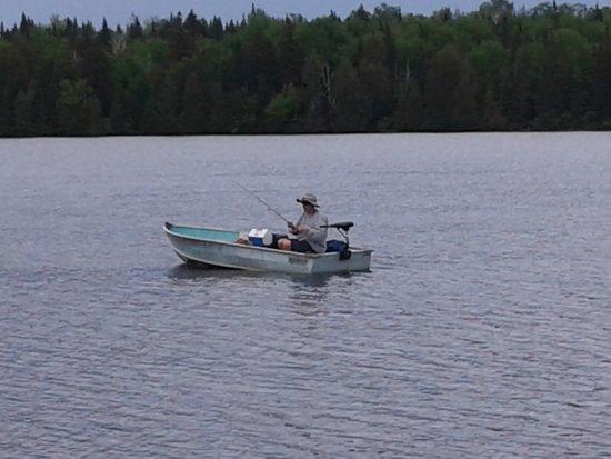 Averill, VT: One very happy fisherman