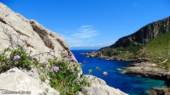 Zarbo di Mare, Италия: La splendida Cala Firriato e sullo sfondo Punta Tannure, un angolo di paradiso nascosto a due passi dalla vicina San Vito Lo Capo e la Riserva Naturale dello Zingaro.