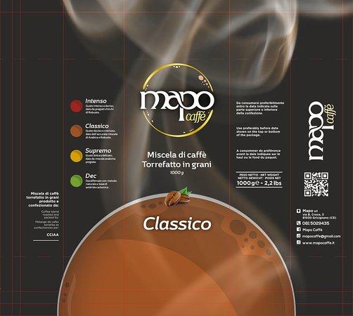 Gricignano di Aversa, Italia: mapo caffe gusto classico
