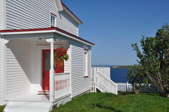 Heart's Content, Canada: The garden at Mallamoore House