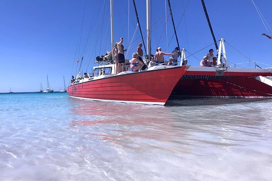 Barbados catamaran snorkel cruise