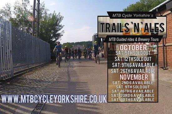 Trails'n` Ales指南山地自行车之旅和啤酒厂之旅