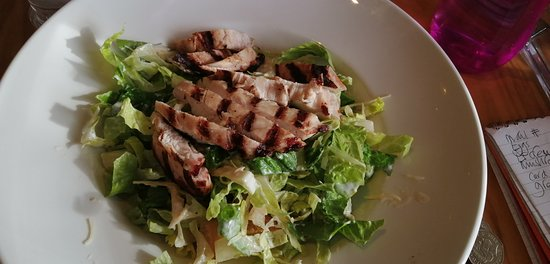 My super-healthy Caesar salad, really tasty