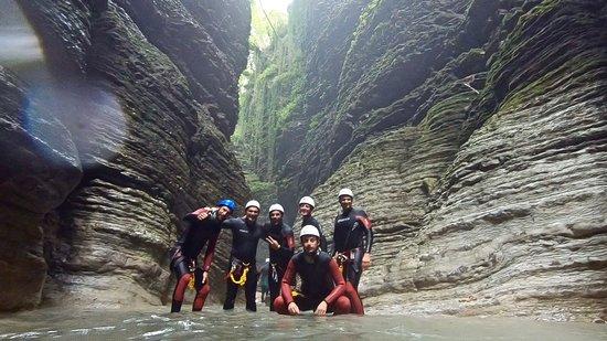 Canyoning Borgovalbelluna