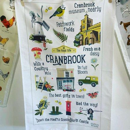 our exclusive Cranbrook tea towel!