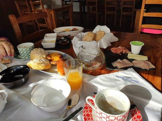 Quinta Manel da Gaita : Pequeno almoço