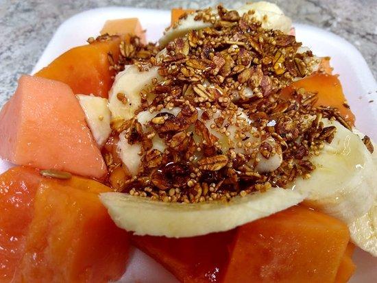 Toluca Municipality, Mexico: ¡Cóctel de frutas!, delicioso y nutritivo, ven a disfrutarlo ven a  #cafeturismo #delicious #facturygas