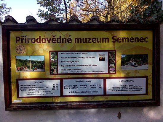 Prirodovedne Muzeum Semenec