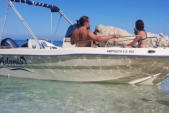 Adonis boat rental