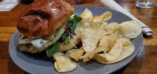 Grey's: Trout Sandwich