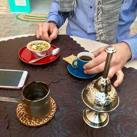 El Qubbah: Turkish coffee
