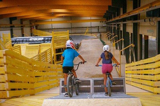 Ervaar BMX of indoor MTB niet ...