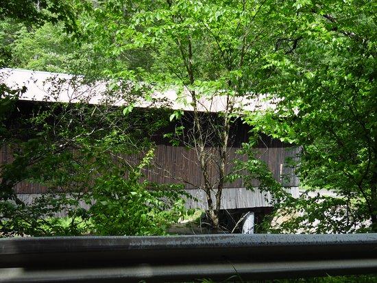Newport, NH: PIER RR COVERED BRIDGE aka CHANDLER STATION BRIDGE