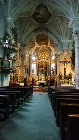 The mediaval church in Rattenberg, a bit hidden away, but well worth a visit.