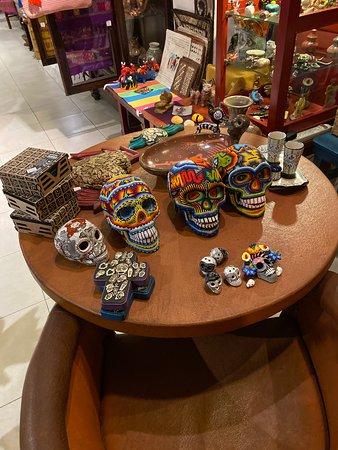 Beautiful artisan products.