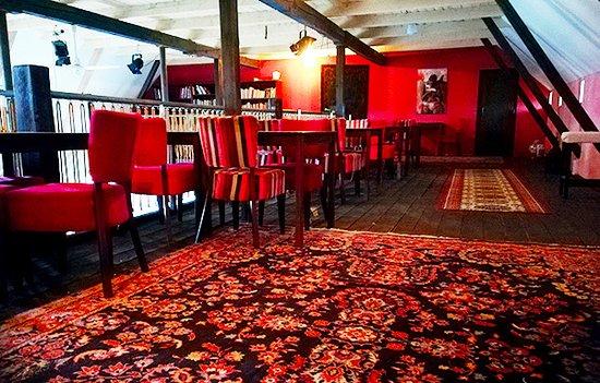 Upper floor of Skillinge Theatre Café & Restaurant