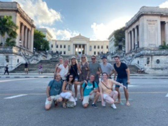 Leuke fietstocht door Havana stad