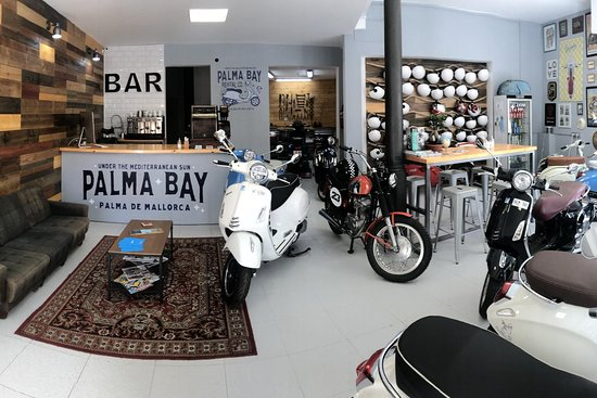 Palma Bay Vespa Rental