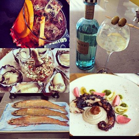 Interior ~ Octopus ~ Regular Customers~ SPRITZ~ pane FRATTAU ~ Table set ~ SCURO Coffee