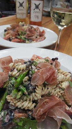 Nonno's Ristorante Italiano: Mynonnos.com     or  619 337 9559 call Prosciutto fusilli pasta salad