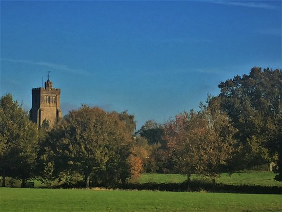 16.  Millennium Field, Biddenden; All Sainst Church