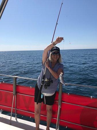 Medio día de pesca en el arrecife desde Albufeira: Wfe having fun