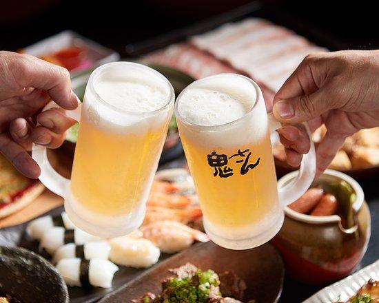 うまいビールで乾杯!