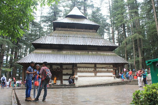Manali, Indien: Popular Place of worship
