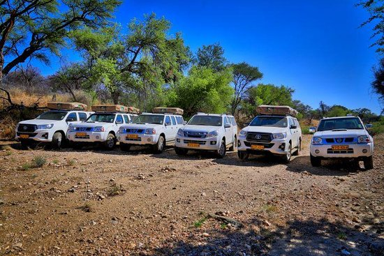 Travel Namibia 4x4 Car Rentals