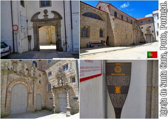 Igreja de Santa Clara, Porto, Portugal