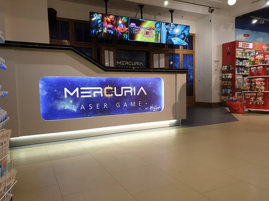 Mercuria Laser Game Hamleys