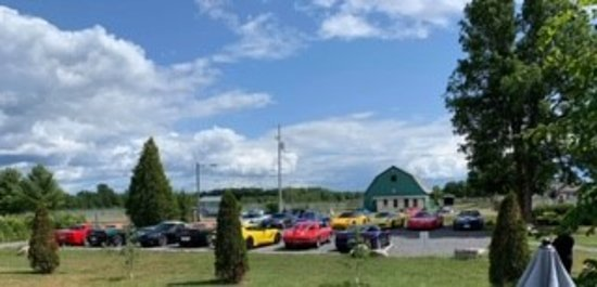 Morrisburg, Kanada: the day the corvettes came to visit - summer 2019