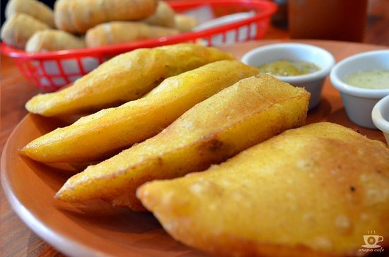 The best Venezuelan food in town, come and visit us today . We're located @ Av. Grau 624 Barranco...