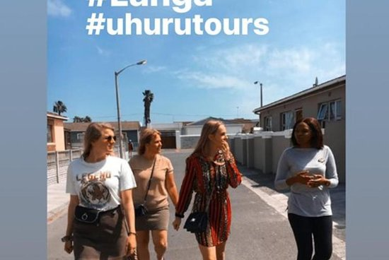 Uhuru township tours is a tourism company fully owned by 3 woman from langa