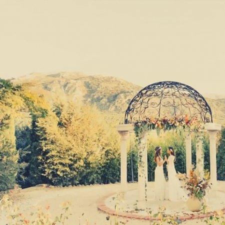 Villanueva del Rosario, España: wedding arbour