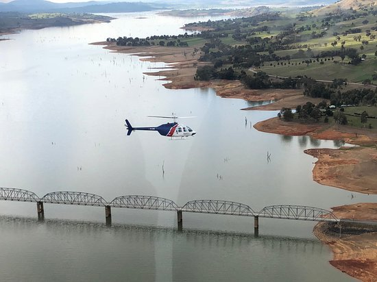 Albury, Austrália: Scenic flight over Lake Hume and Bethanga Bridge