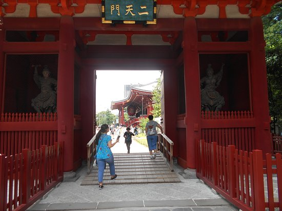 ‪Senso-ji Temple Nitemmon Gate‬