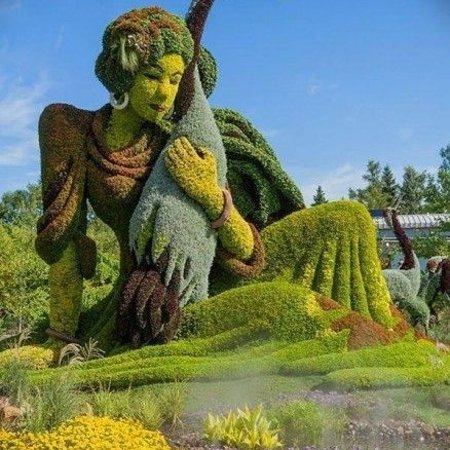 Montreal, Kanada: Scultura di siepe meravigliosa
