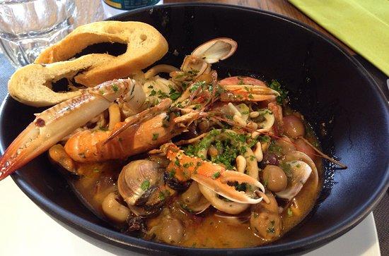 Zuppa di pesce super