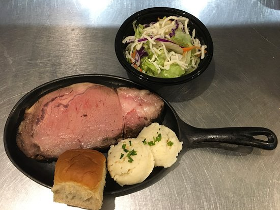 Perham, MN : Prime Rib Dinner Special Friday's & Saturday's $18.95 Cheese Cake extra