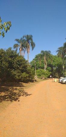 Parque Estadual do Juquery: Estacionamento