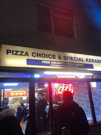 Pizza Choice Special Kebabs Weston Super Mare Photos
