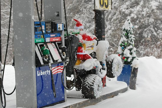 Freeman, WV: Even Santa loves the Outpost! We have something for everyone.