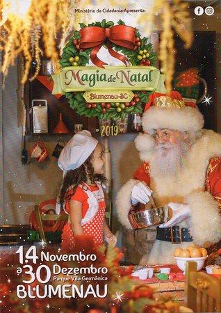 A MK Turismo Executivo leva voce e sua Familia para a Magia de Natal em Blumenau de 14 de Novembro a 30 de Dezembro! Um Mundo Encantado de Magia! Natal em Blumenau SC.