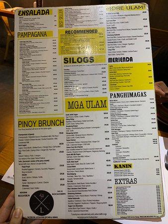Fusion Philippines food