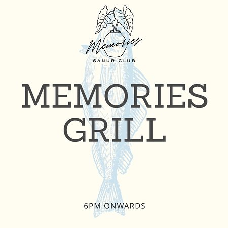 new addition for our restaurant! our grill is available everyday 6pm onwards