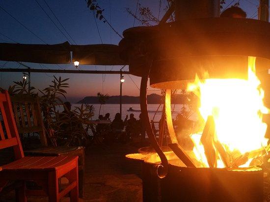 Gün batımı Asma6  @kasasma6 #beach #restaurant #cafe #garden #gunbatımı #sunset #kas #asma6