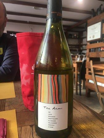un ottimo vino del Lazio, asciutto ma fruttato